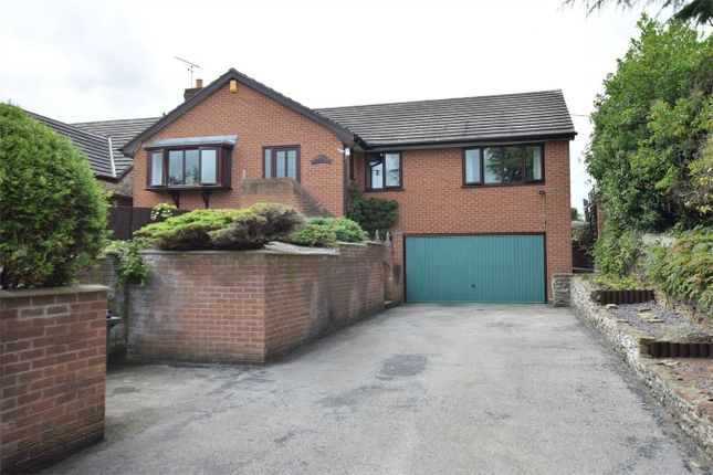 Thumbnail Detached bungalow for sale in Manor Road, South Wingfield, Alfreton, Derbyshire