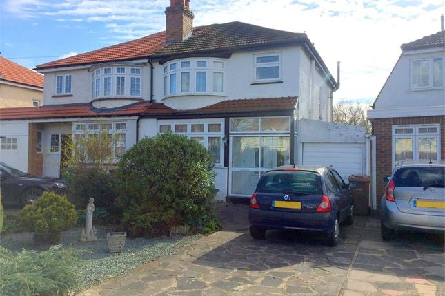 Thumbnail Semi-detached house for sale in Northcroft Road, West Ewell, Epsom