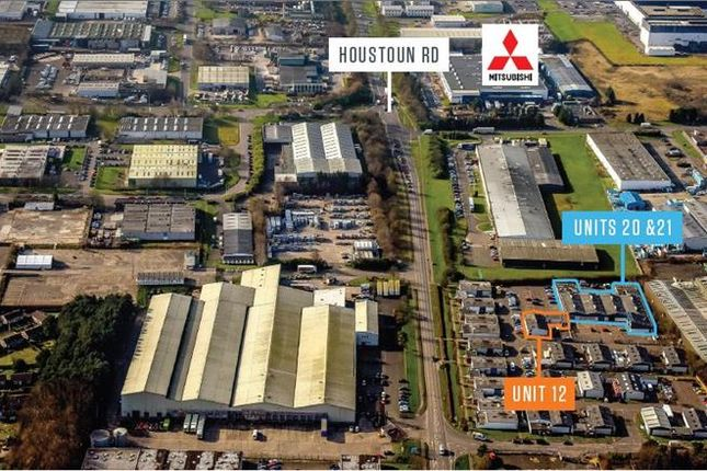 Thumbnail Industrial for sale in Units 12, 20 & 21, Napier Square, Livingston