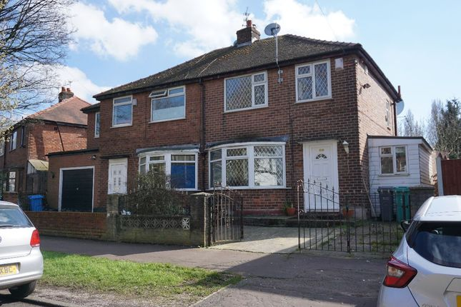 Semi-detached house for sale in Crescent Range, Manchester
