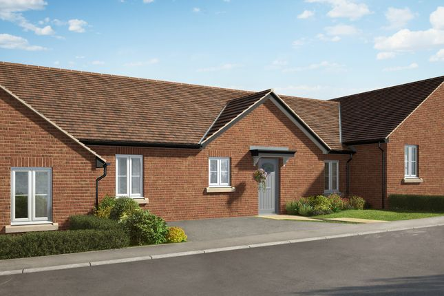 "Thumbnail Bungalow for sale in ""The Glaston 2"" at Hill Top Close, Market Harborough"