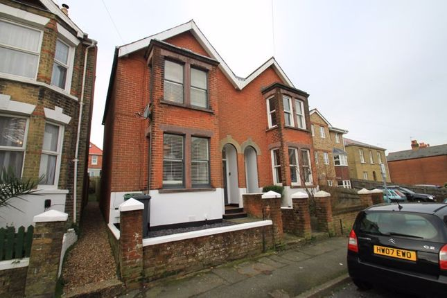 Thumbnail Semi-detached house to rent in West Hill Road, Cowes