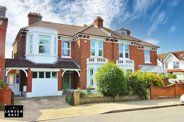Thumbnail Semi-detached house for sale in Priory Crescent, Southsea
