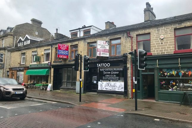 Thumbnail Retail premises for sale in Bacup Road, Waterfoot, Rossendale