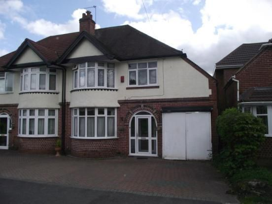 Thumbnail Semi-detached house for sale in Station Road, Stechford