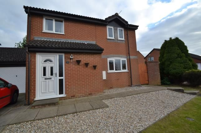 Thumbnail Detached house for sale in Larchwood Close, Wellingborough, Northamptonshire