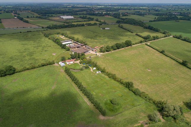 Thumbnail Farm for sale in Mill Road, North Tuddenham, Dereham
