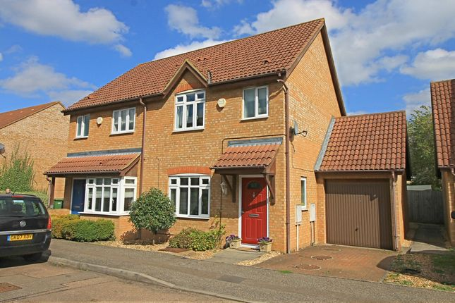 Thumbnail Semi-detached house for sale in Betts Close, Godmanchester