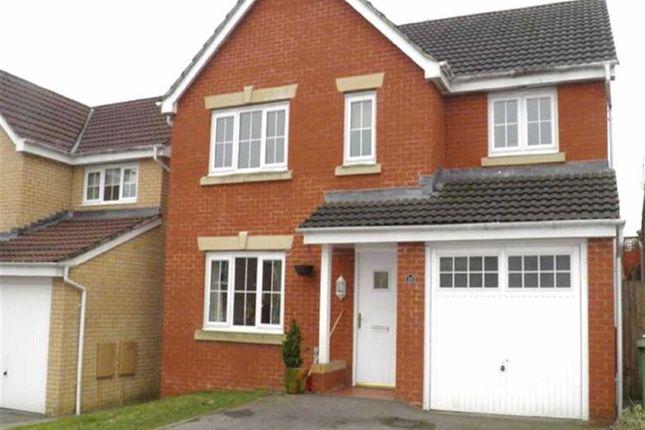 Thumbnail Detached house to rent in Pwll Yr Allt, Tir-Y-Berth, Hengoed