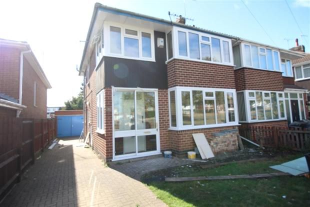 Thumbnail Semi-detached house to rent in Kenpas Highway, Styvechale, Coventry