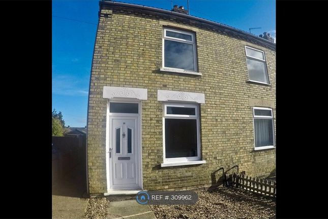 Thumbnail End terrace house to rent in Osborne Road, Wisbech