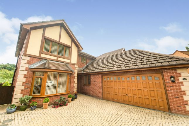 Thumbnail Detached house for sale in The Glade, Wyllie, Blackwood