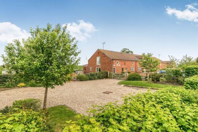 Equestrian property for sale in Higher Den Farm Barns, Den Lane, Crewe, Staffordshire