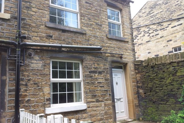 Thumbnail Terraced house to rent in Blackmoorfoot Road, Crosland Moor, Huddersfield