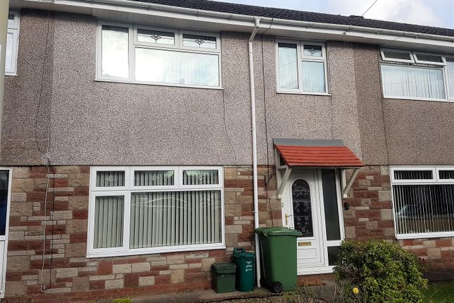 Thumbnail Terraced house to rent in Maes Trane, Pontypridd
