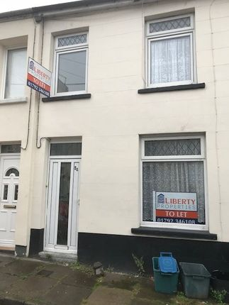 Thumbnail Terraced house to rent in Trevethick Street, Merthyr Tydfil