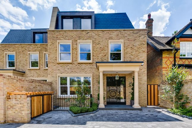 5 bed semi-detached house for sale in Queens Ride, Barnes, London SW13