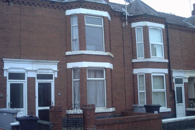 Thumbnail Shared accommodation to rent in Ernest Street, Crewe