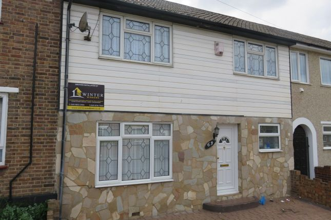 Thumbnail Terraced house to rent in Glenmore Road, Welling