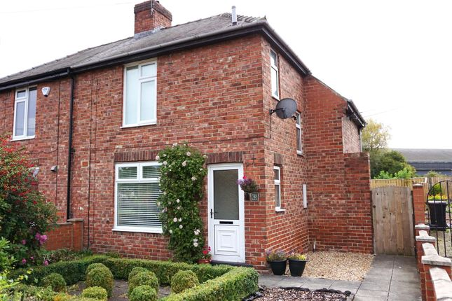Thumbnail Semi-detached house for sale in Frank Street, Gilesgate, Durham