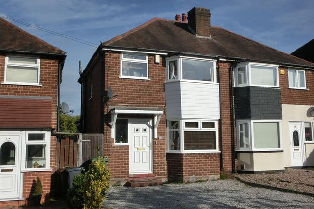 Thumbnail Semi-detached house for sale in Newborough Road, Shirley, Solihull