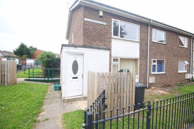 2 bed flat to rent in Gilling Crescent, Darlington DL1