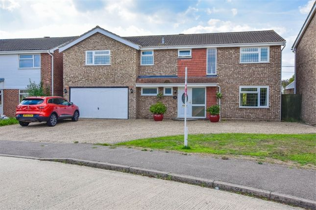 Thumbnail Detached house for sale in Dinants Crescent, Marks Tey, Colchester, Essex