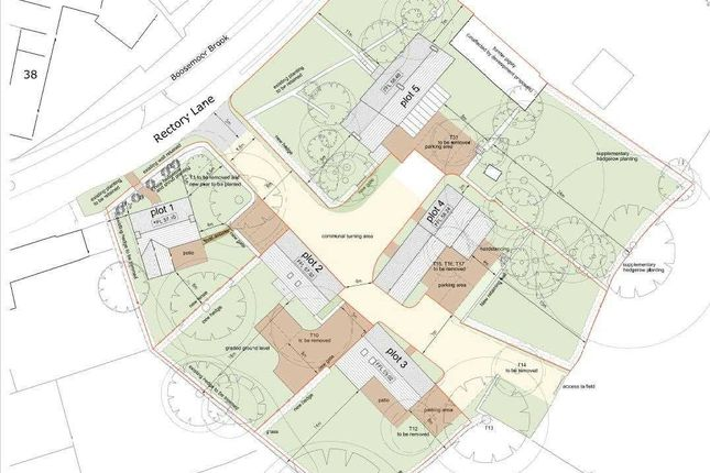 Thumbnail Land for sale in Brookside Farm, Off Rectory Lane, Derby