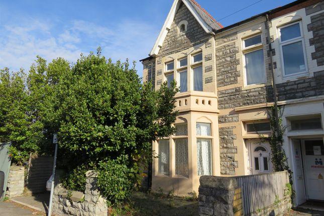 Semi-detached house for sale in Hickman Road, Penarth