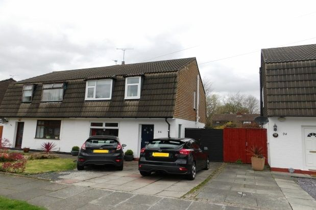 Thumbnail Semi-detached house to rent in Westminster Drive, Bromborough, Wirral