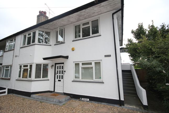 Thumbnail Maisonette to rent in Church Road, Iver