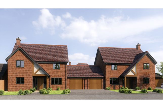 Thumbnail Link-detached house for sale in Winters Lane, Long Bennington