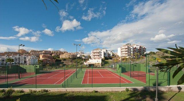 Tennis Courts of Spain, Málaga, Mijas, Riviera Del Sol