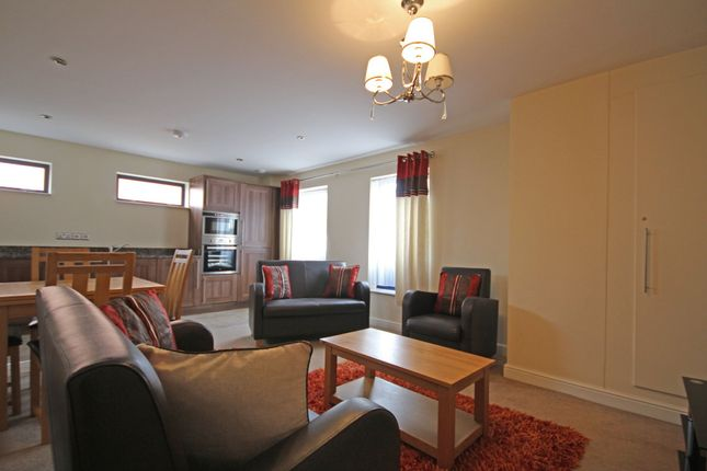 Thumbnail Flat to rent in Apartment 1, Luxe Apartments, St Helens Street, Derby