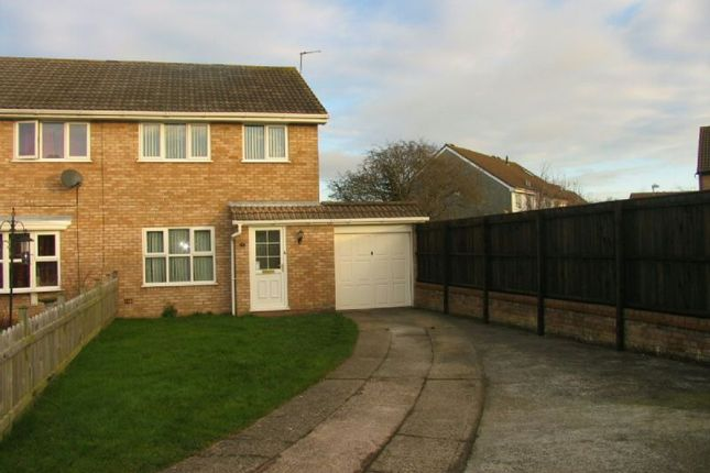 Thumbnail Semi-detached house to rent in The Lawns, Worle, Weston-Super-Mare