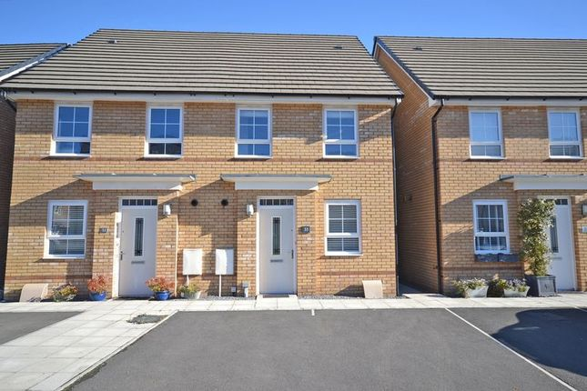 Thumbnail Semi-detached house for sale in Modern Semi-Detached House, De Haia Road, Newport
