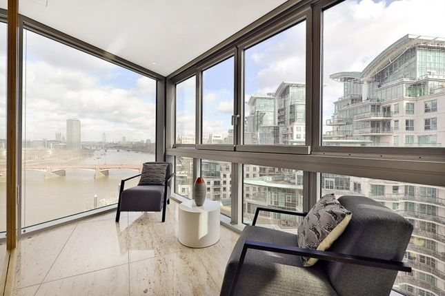 Thumbnail Flat for sale in The Tower, 1 St George Wharf, London