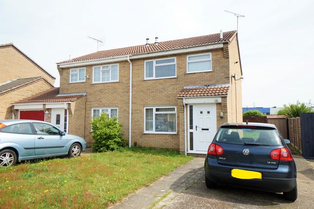 Thumbnail 3 bed semi-detached house for sale in Braziers Wood Road, Ipswich
