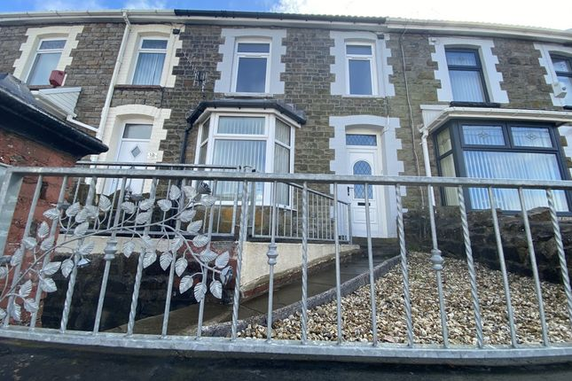 3 bed terraced house for sale in Aubrey Road Porth -, Porth CF39