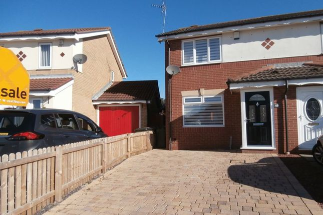 Thumbnail Semi-detached house to rent in Bewick Park, Wallsend