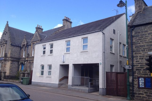 Thumbnail Commercial property for sale in Former Police Station, High Street, Kingussie