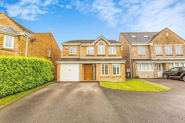 Thumbnail Detached house for sale in 61 Hurst Crescent, Glossop