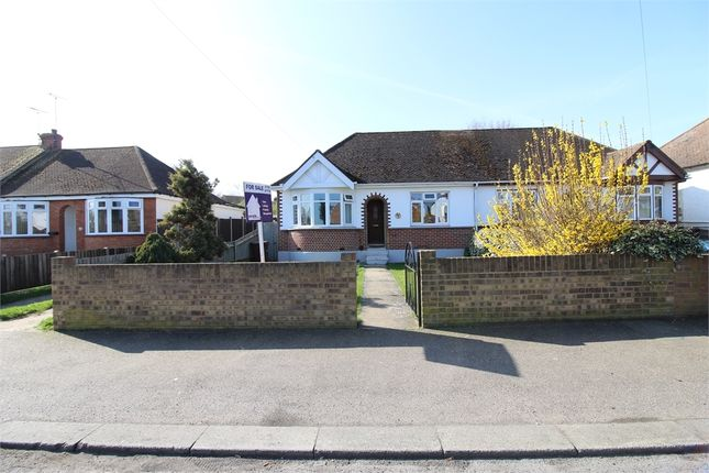 Thumbnail Semi-detached bungalow for sale in Begonia Avenue, Gillingham, Kent.