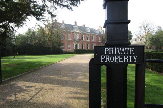 Thumbnail Flat to rent in The Mansion, Balls Park, Hertford