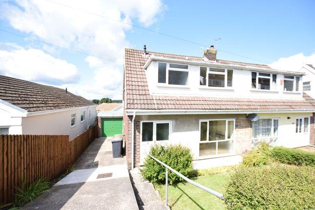 Thumbnail Semi-detached house for sale in Mandeville Road, Bonnie View, Blackwood