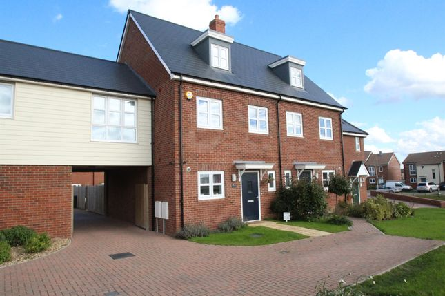 Thumbnail Town house for sale in Millars Close, Main Street, Grendon Underwood, Aylesbury