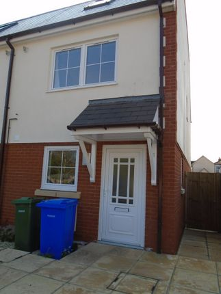 Thumbnail End terrace house to rent in Dorset Mews, Farnborough