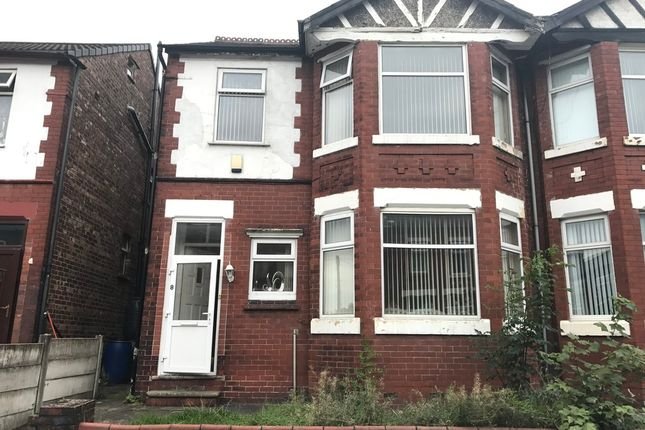 Thumbnail Semi-detached house for sale in Beresford Road, Longsight, Manchester