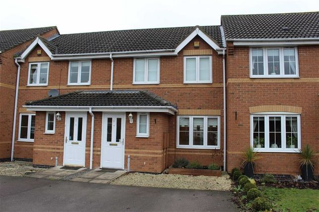 Thumbnail Town house to rent in Colts Close, Burbage, Hinckley