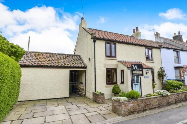 Thumbnail End terrace house for sale in East Harlsey, Northallerton, North Yorkshire